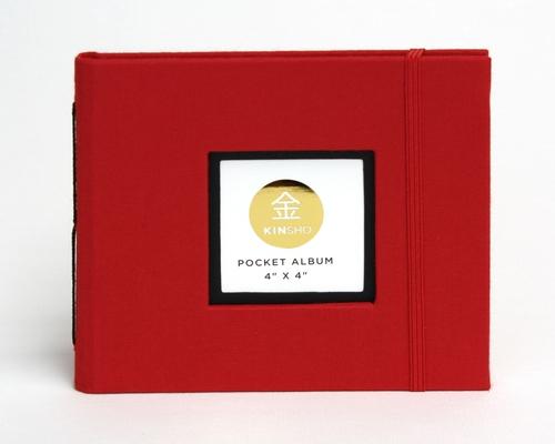 4 X 4 Pocket Album Kinsho Premium Photo Albums