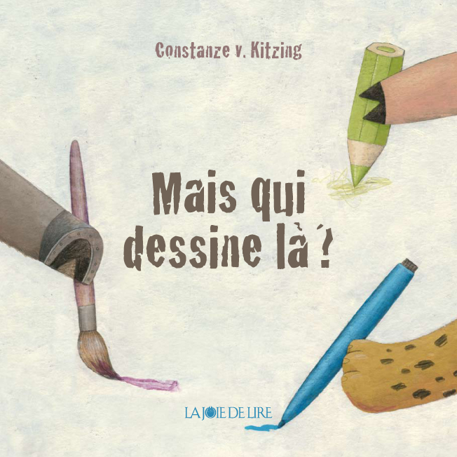 Mais qui dessine là?, Coloring Book La Joie de Lire 2016, France