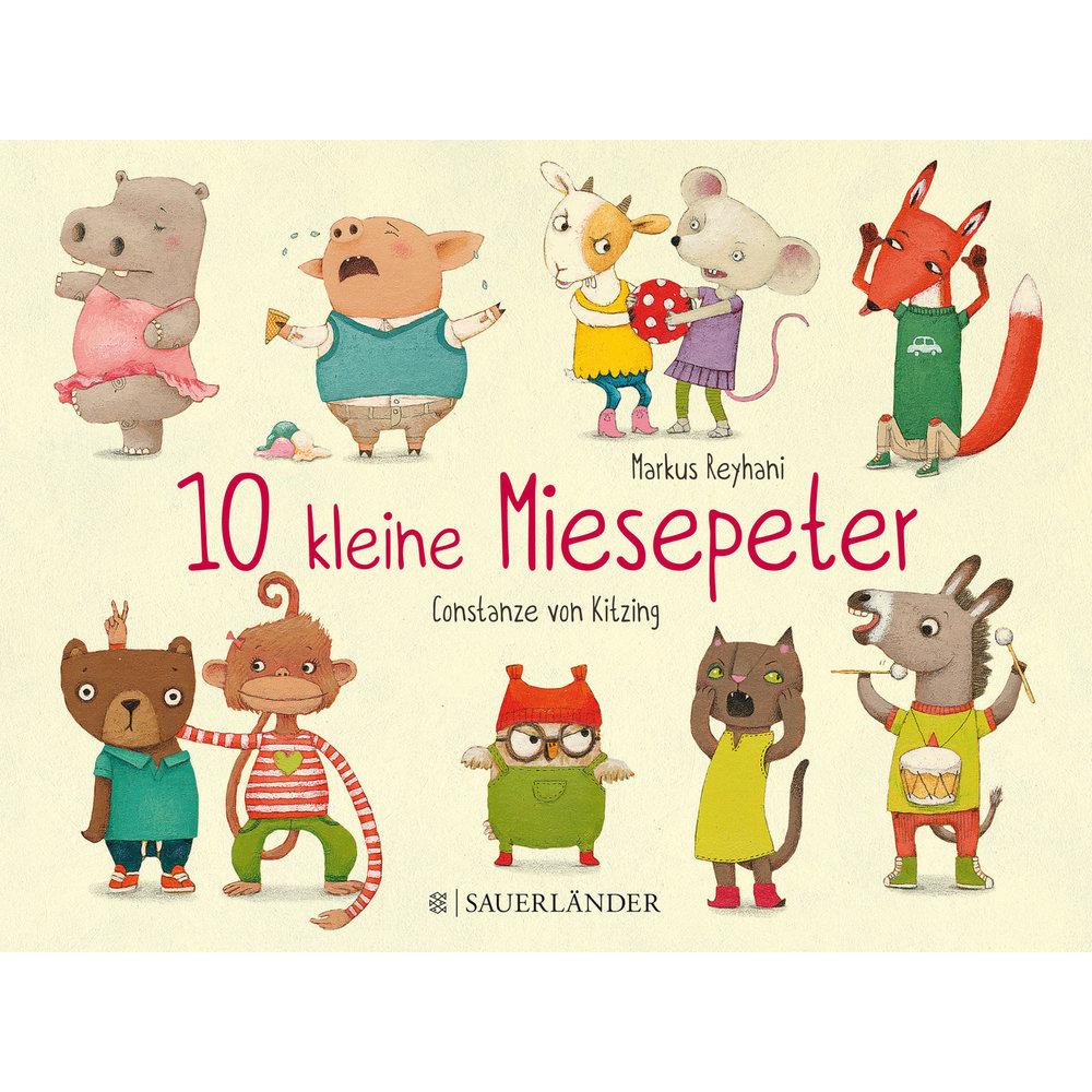 10 kleine Miesepeter Fischer-Sauerländer 2016