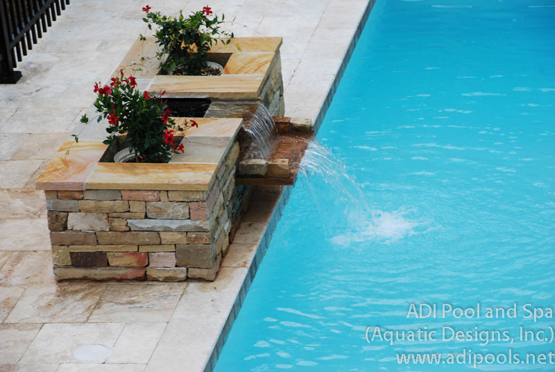 Fountains Waterfalls Adi Pool Spa Residential And Commercial Pools