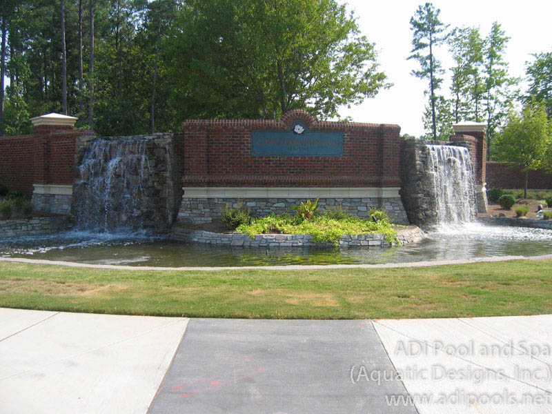 Fountains And Waterfalls Adi Pool Amp Spa Residential And