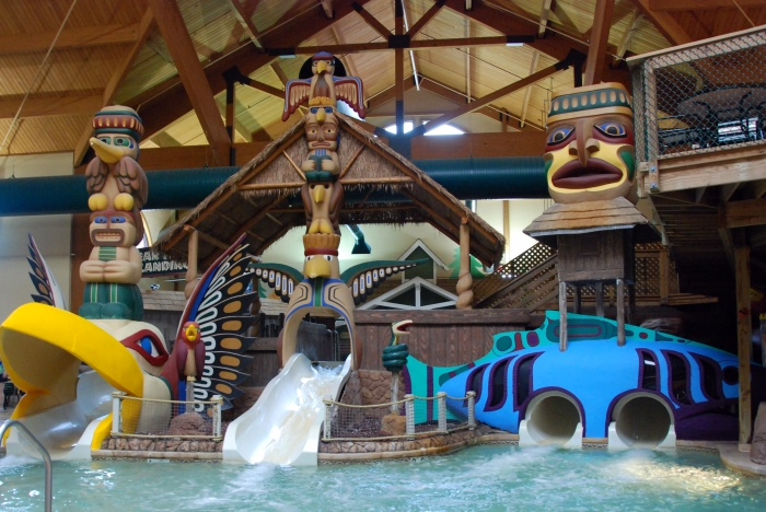 most fun indoor hotel pool great wolf lodge