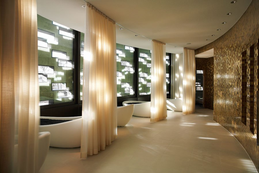 10 of the best spa interior design in the world adi pool for Design hotel 6f