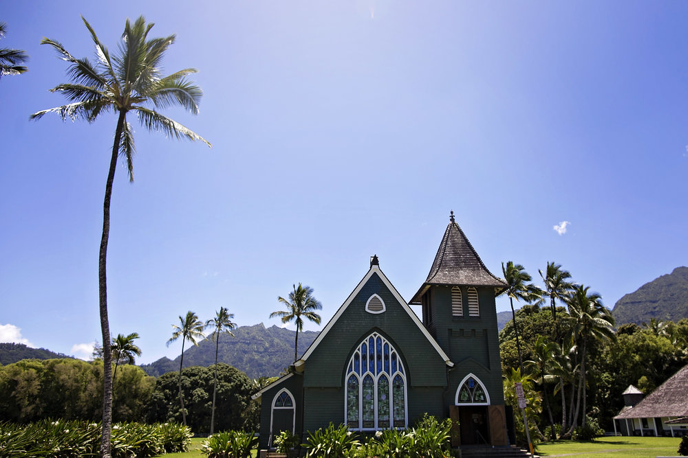 The prettiest little church in Kauai