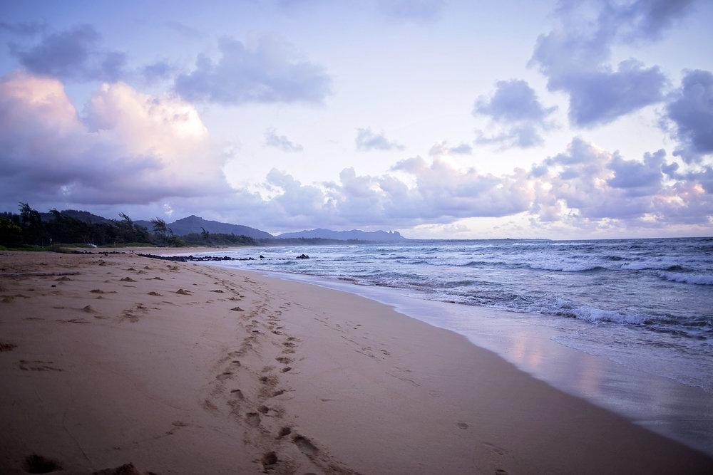 Sunrise in Lihue, Kauai