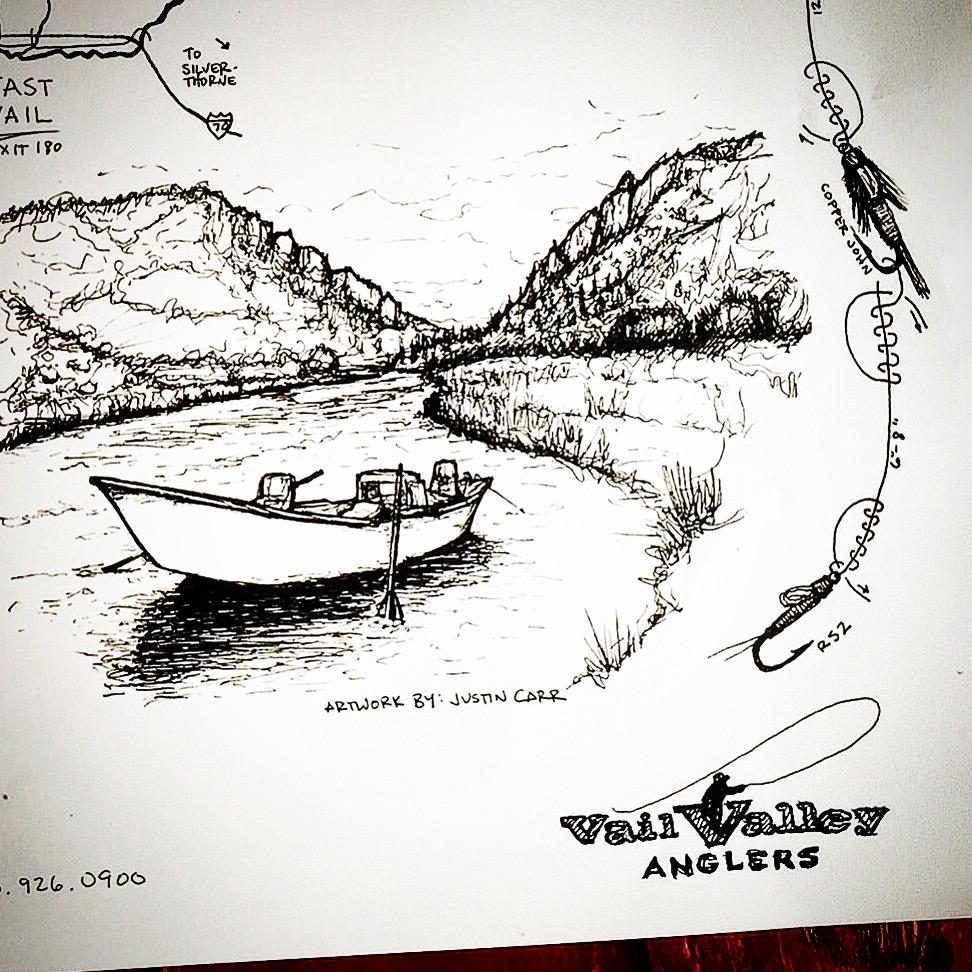 Eagle River Map, Upper River, Detail, 2015