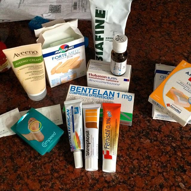 Our farmacia goodies