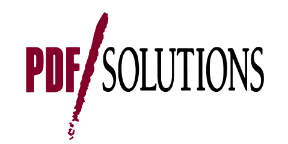 PDF Solutions, Inc. is the leading provider of yield improvement technologies and services for the IC manufacturing process life cycle. PDF Solutions offers solutions that are designed to enable clients to lower costs of IC design and manufacture, enhance time to market, and improve profitability by addressing design and manufacturing interactions from product design to initial process ramps to mature manufacturing operations. PDF Solutions' Characterization Vehicle® (CV®) test chips provide the core modeling capabilities, and are used by more leading manufacturers than any other test chips in the industry. Exensio™, PDF Solutions' industry leading yield management and fault detection and classification enterprise software platform, enhances yield improvement and production control activities at leading fabs around the world. Headquartered in San Jose, Calif., PDF Solutions operates worldwide with additional offices in China, Europe, Japan, Korea and Taiwan. More