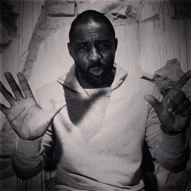 Throwback to @idriselba dropping us a big hint about his next role #007 #jamesbond #idriselba #film #luther #bignews
