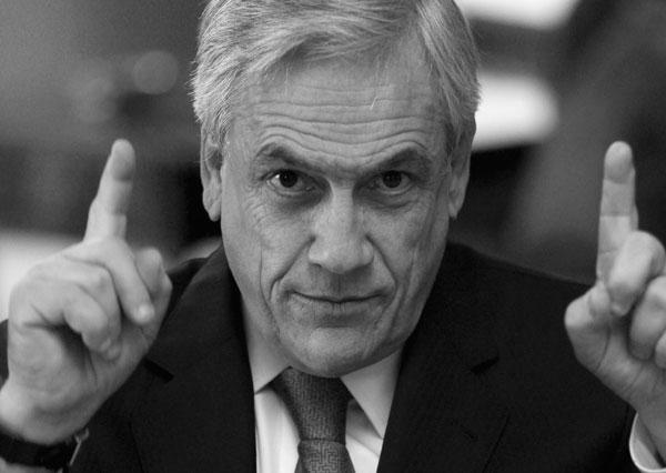 """Sebastián Piñera, Chile (2010-2014)  """"Pero la enfermedad que adolece nuestra democracia es, en último término, una crisis de representación, que afecta no solamente a nuestro país, afecta a muchas, sino a todas las democracias del mundo. Y por ello tenemos que enfrentarla""""."""