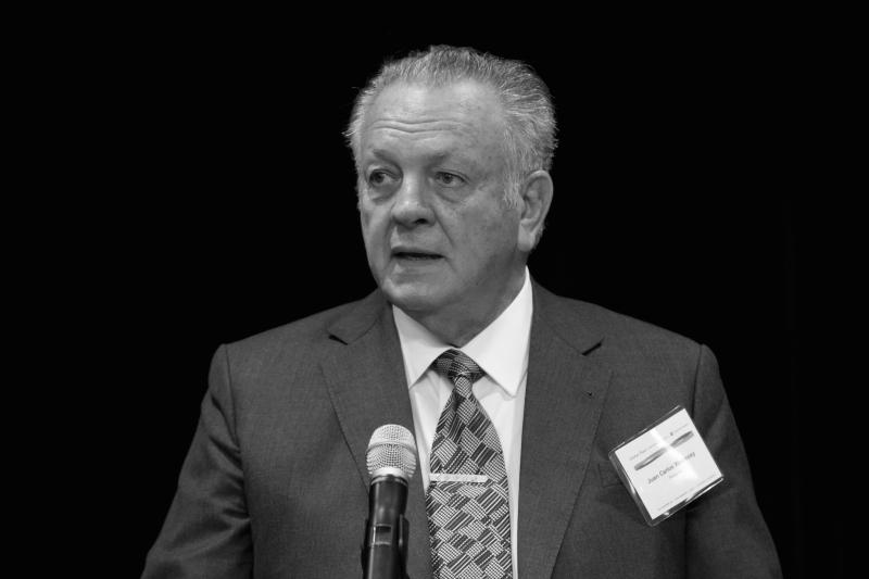 """Juan Carlos Wasmosy, Paraguay (1993-1998)  """"Buen Gobierno, es dar la palabra al Pueblo y conferirle el derecho de decidir sin obligarle a transferir su responsabilidad a una ideología. Es el retorno del ser humano como actor principal del quehacer político, dando primacía al consenso por sobre la práctica de la confrontación por la confrontación misma""""."""