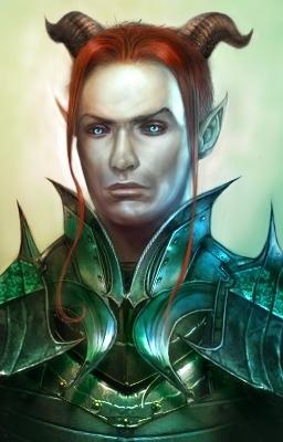 The in-game portrait of Valen Shadowbreath. (Yum.)