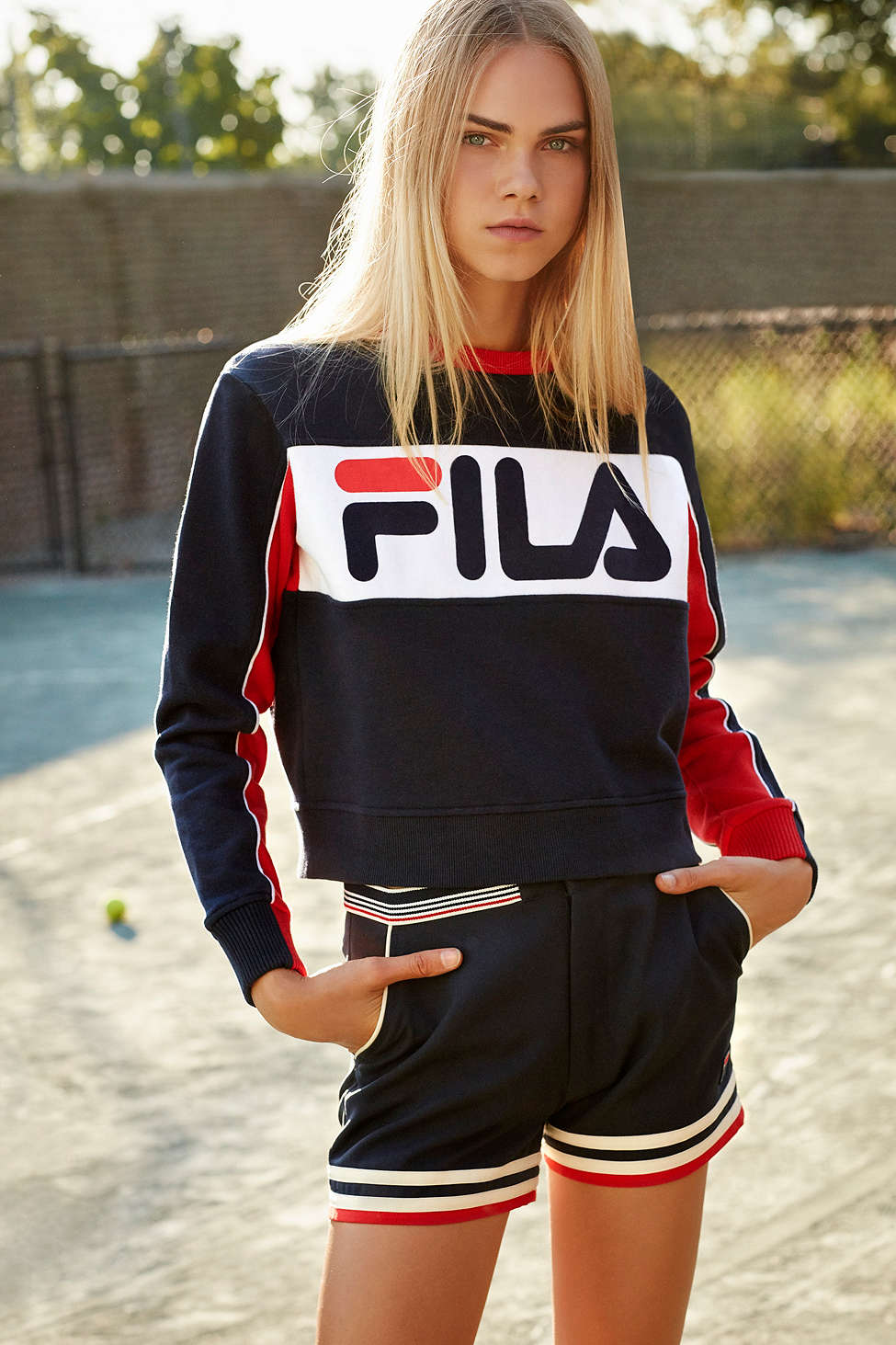 With 90's Outfitters Fila Collaborates Urban Throwback w4467qYv