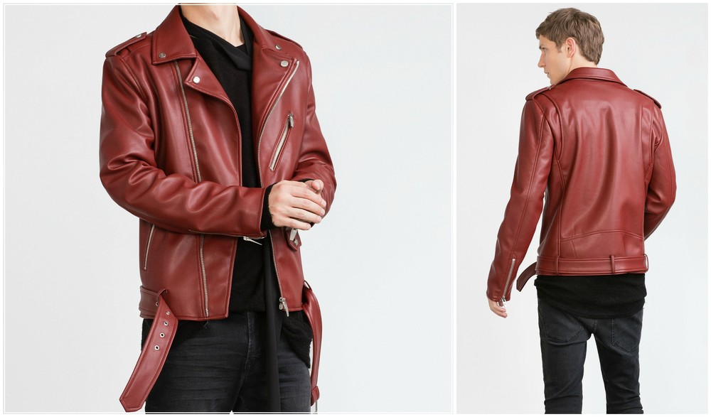 462349b6 Splurge :Biker jacket , Red    $149.00 Zara  ( other