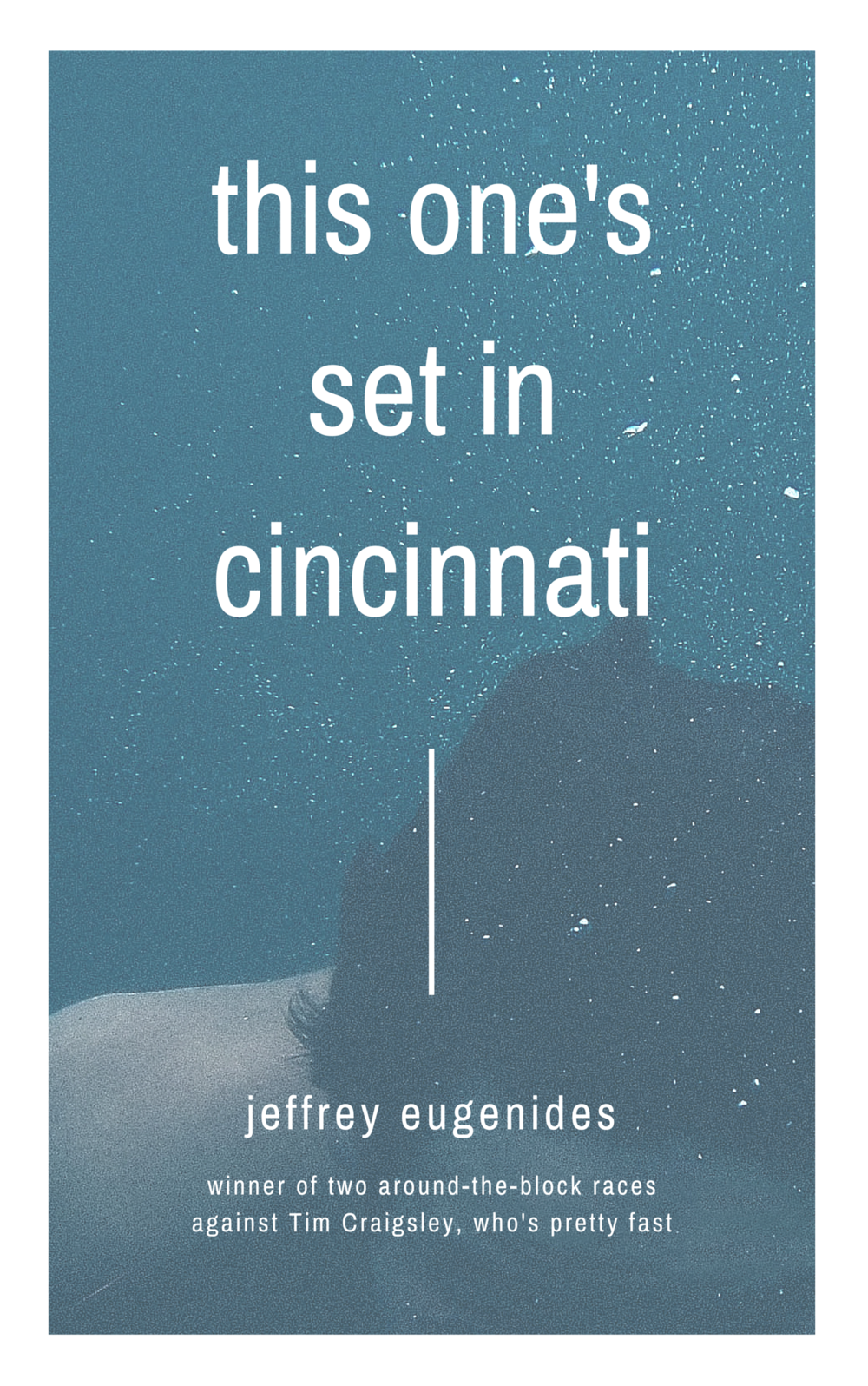 A stunning move for literature- a novel in which something happens in Cincinnati.