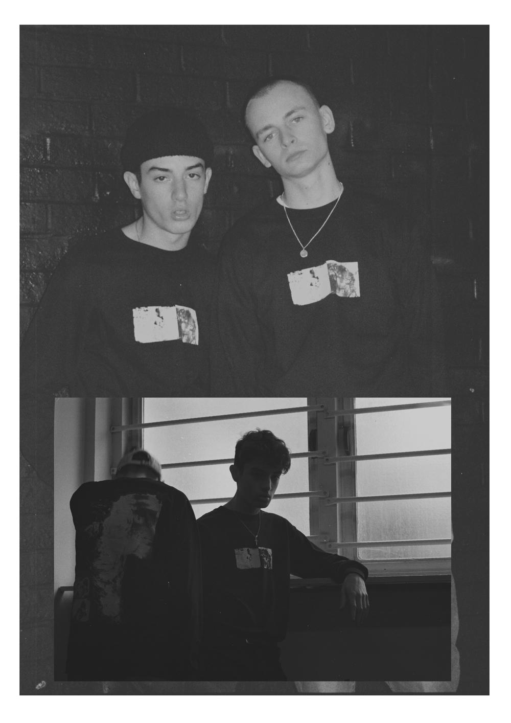 Models Jay Izzard (@jayizzard) and Ibrahim McGinty (@ibrahim_mcginty)
