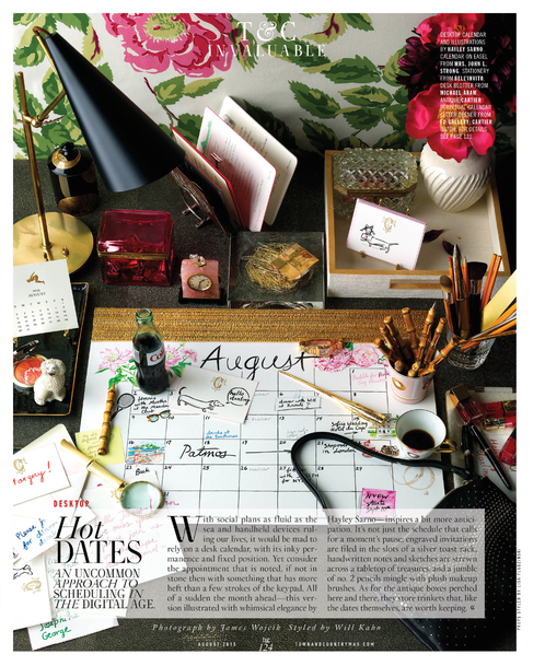 Town & Country, August 2015