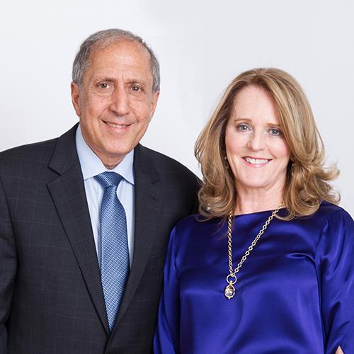 Richard Davidian and Kathie O'Callaghan