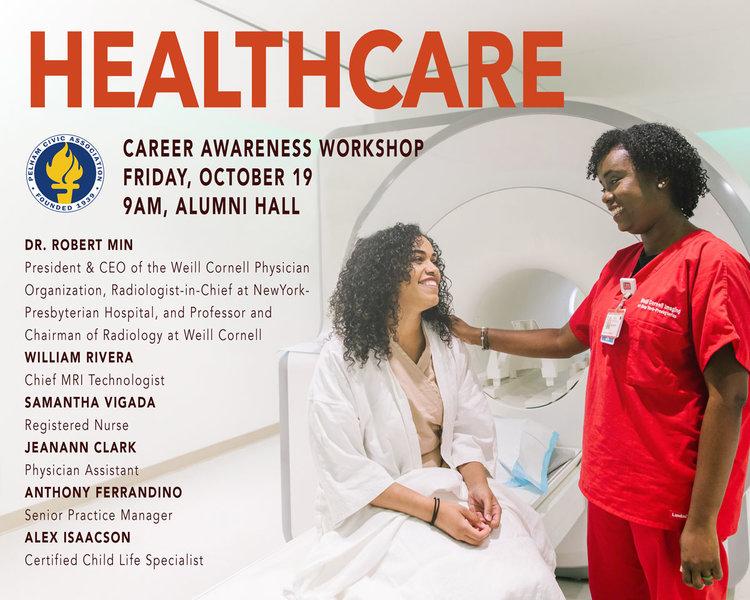 Healthcare Career Workshop @ PMHS — Pelham Civic Association