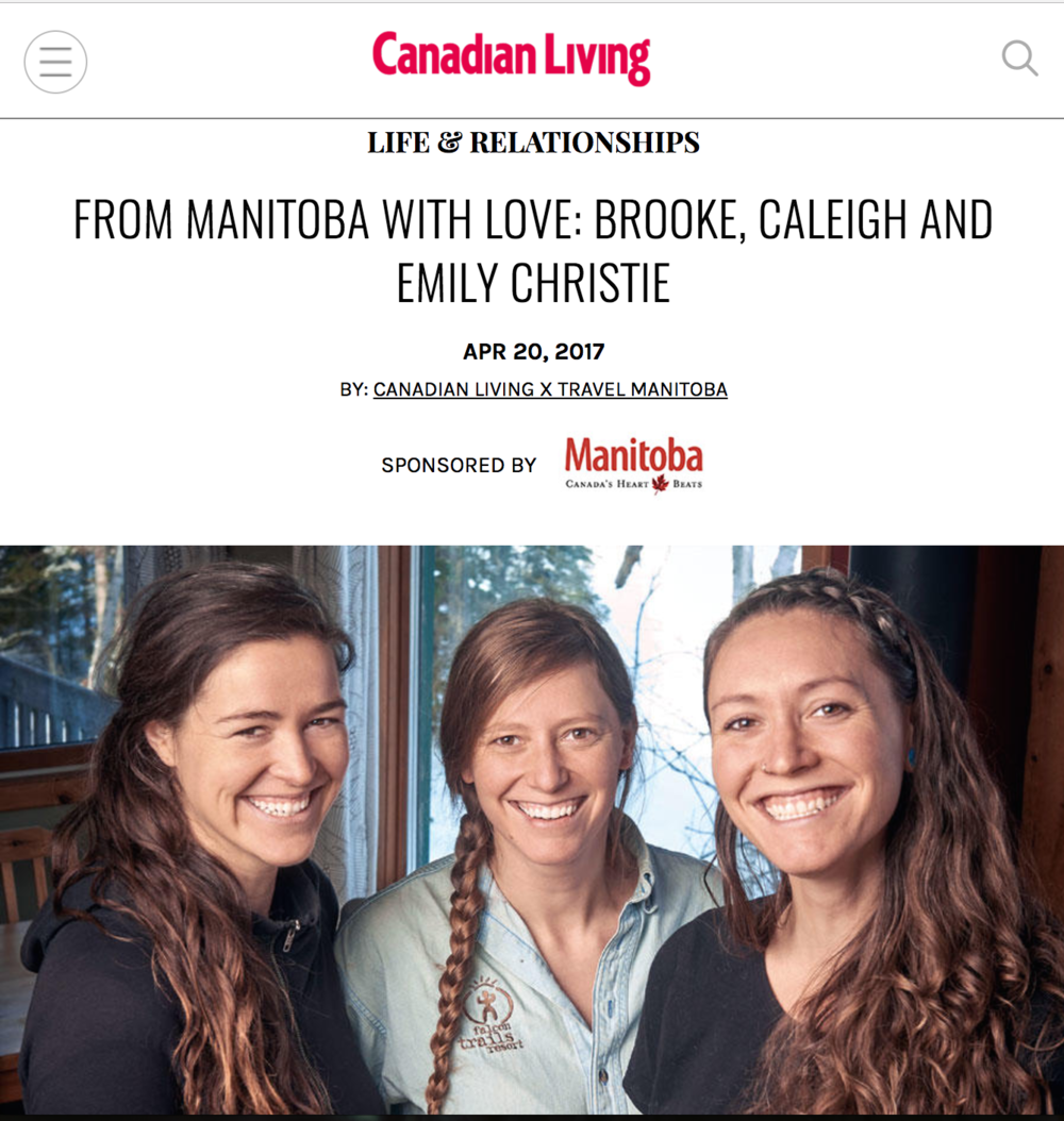 Canadian Living April 2017 article. Click to read!
