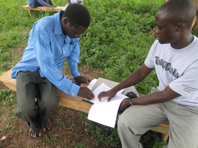 Step 3: Covenant Agreement    A Covenant Agreement (Memorandum of Understanding) is signed between Tukutana and the water committee chairman. This document lists the owner of the well and outlines terms for using and maintaining the well.