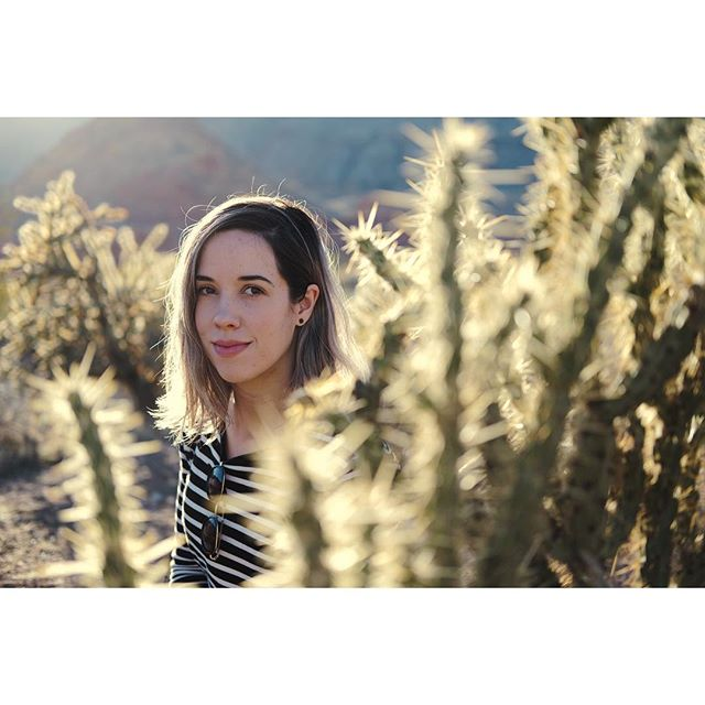 She loved the cacti in Arizona. 🌵🌵