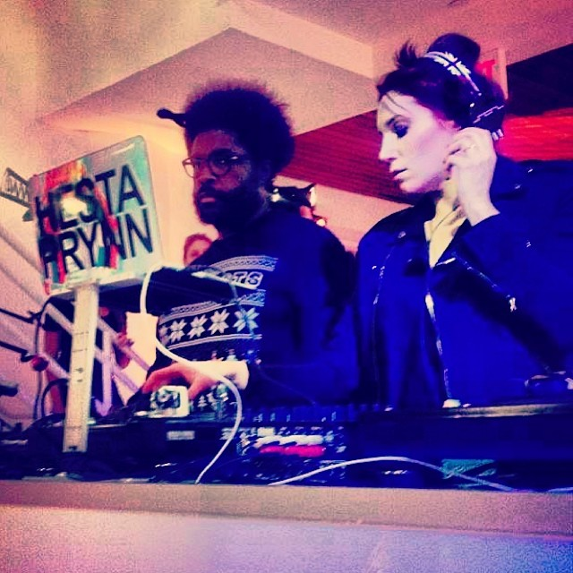 Spotify Holiday Party w Questlove