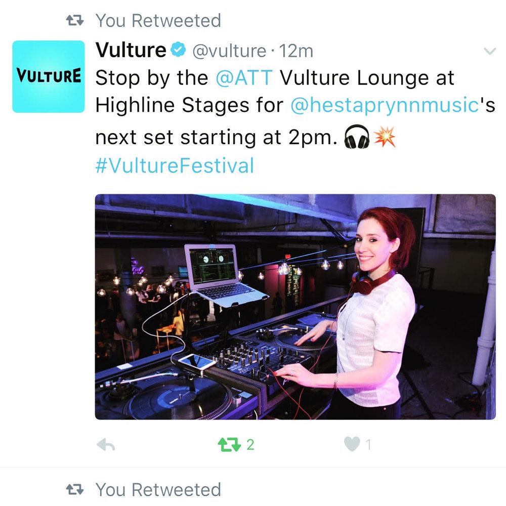 Vulture Festival 2017