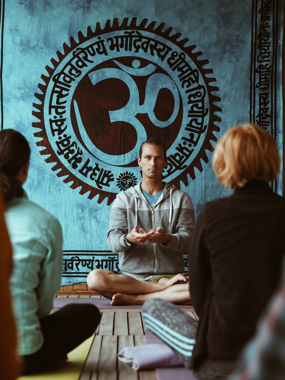 Donovan - surf- and yoga teacher, spiritual soul