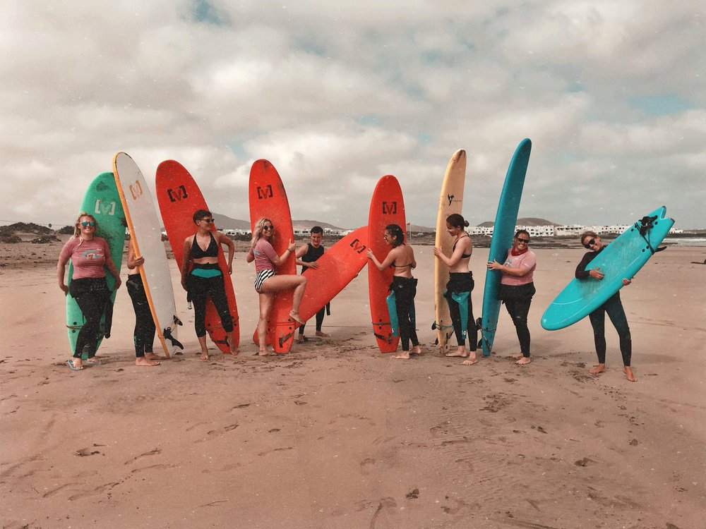 WaveSisters Surf-und Yogacamp Lanzarote