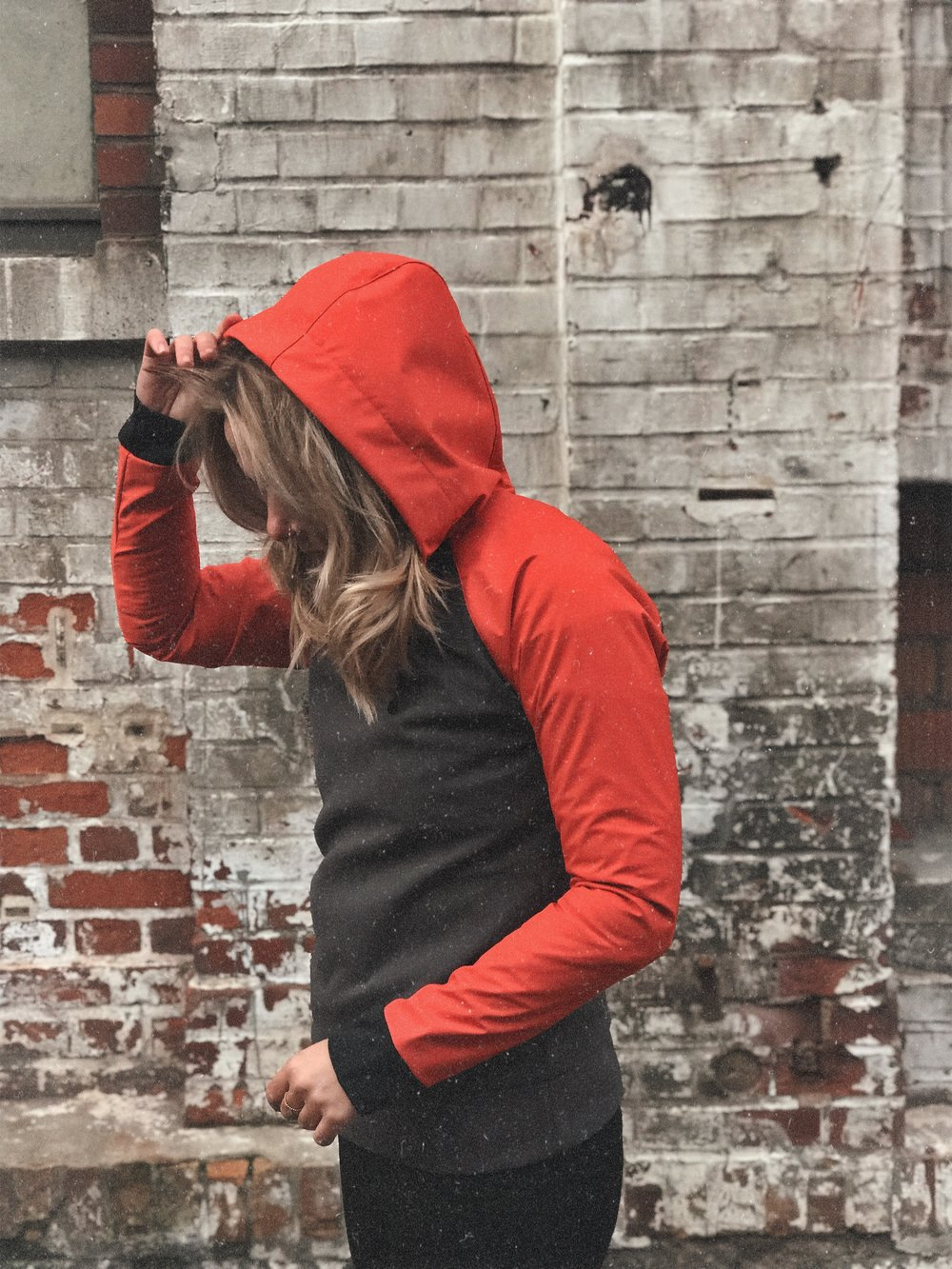Bleed Clothing Hoodie Upcycling