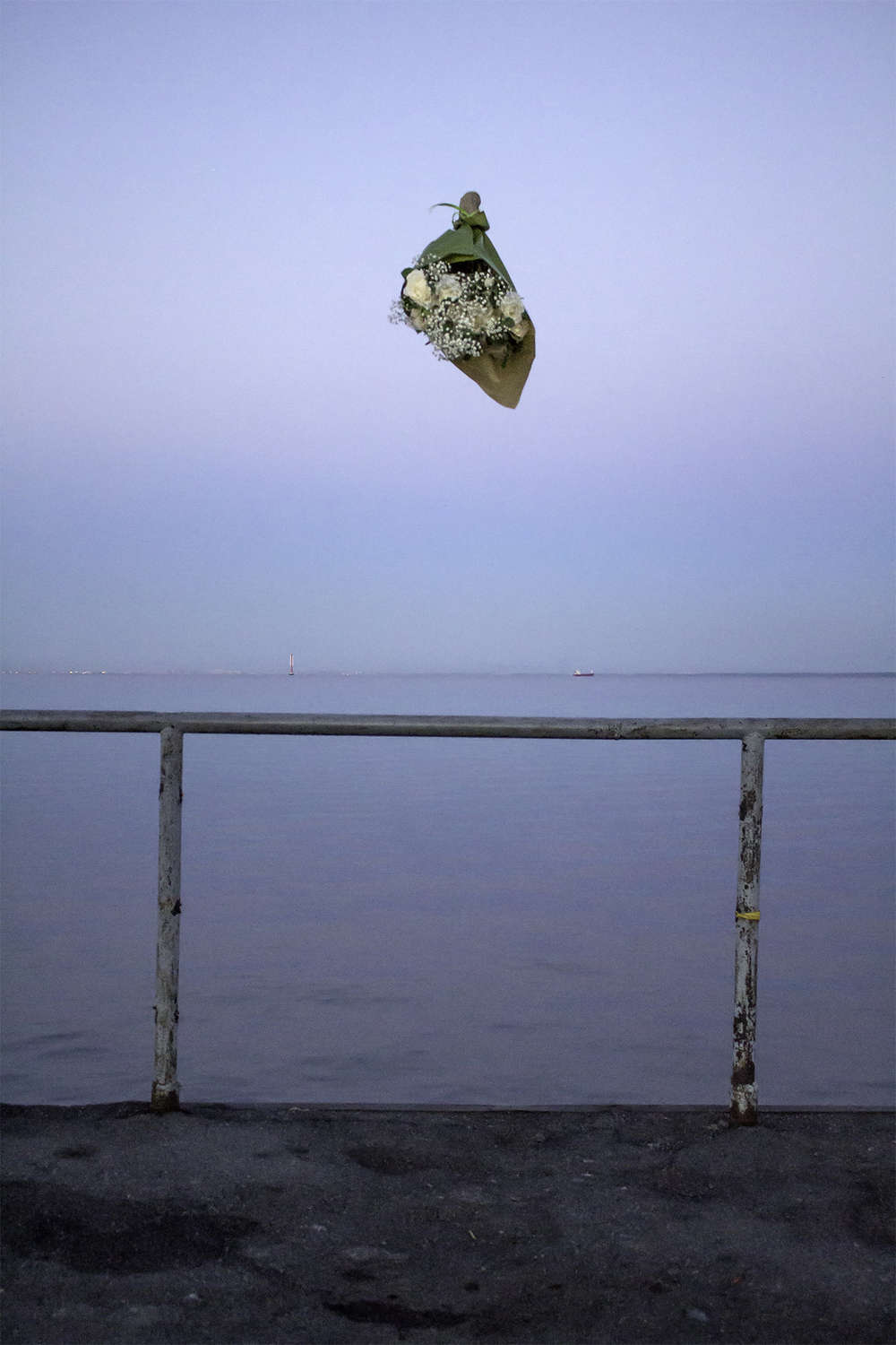 Matt King   Kronstadt Pier,  2014 inkjet on archival paper 18 x 23 inches