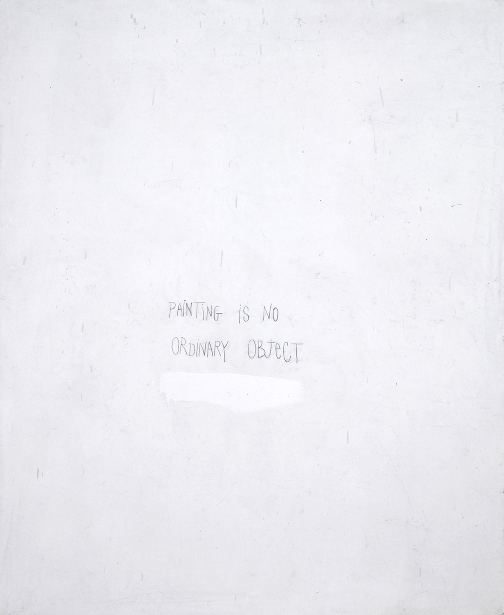 Squeak Carnwath   A Painting , 2006 oil and alkyd on canvas over panel 55 x 45 inches 139.7 x 114.3 cm