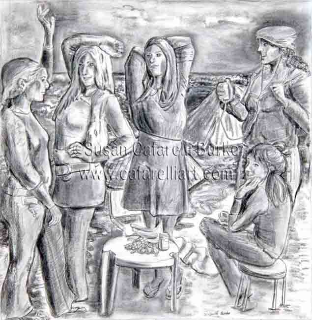 Les Demoiselles of Santa Cruz, V1