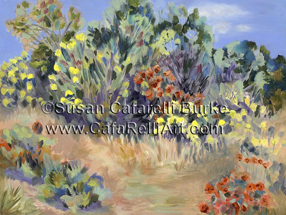 Arboretum Flowers in Fall