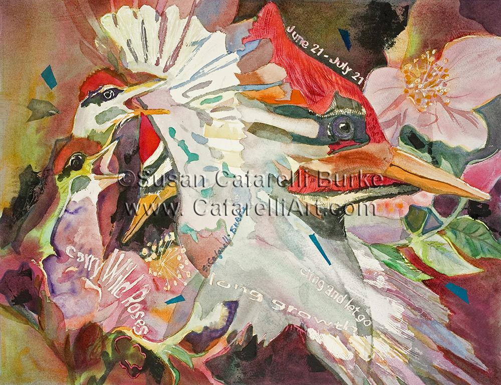 Woodpecker Birth Totem 6-21 thru 7-21