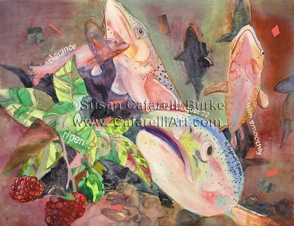 Salmon Birth Totem 7-22 thru 8-21