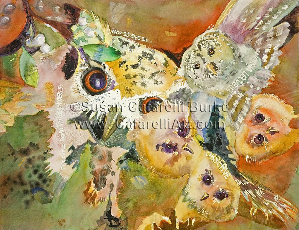 Owl Birth Totem 11-23 thru 12-21