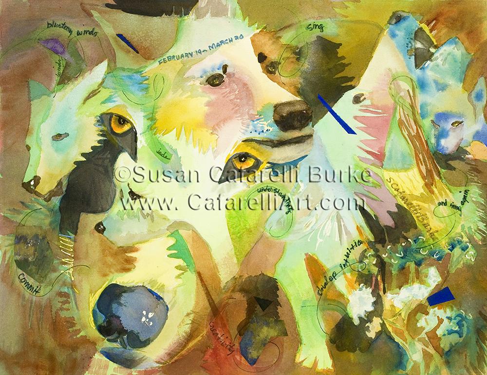 Wolf Birth Totem 2-19 thru 3-10