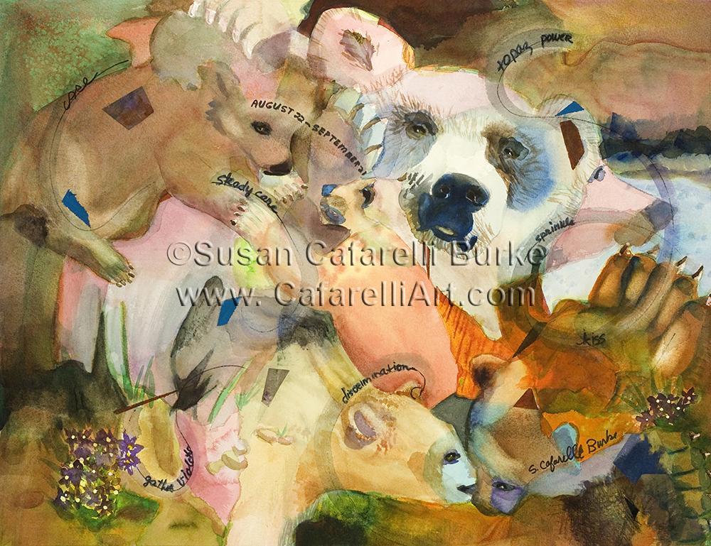 Bear Birth Totem 8-22 thru 9-21
