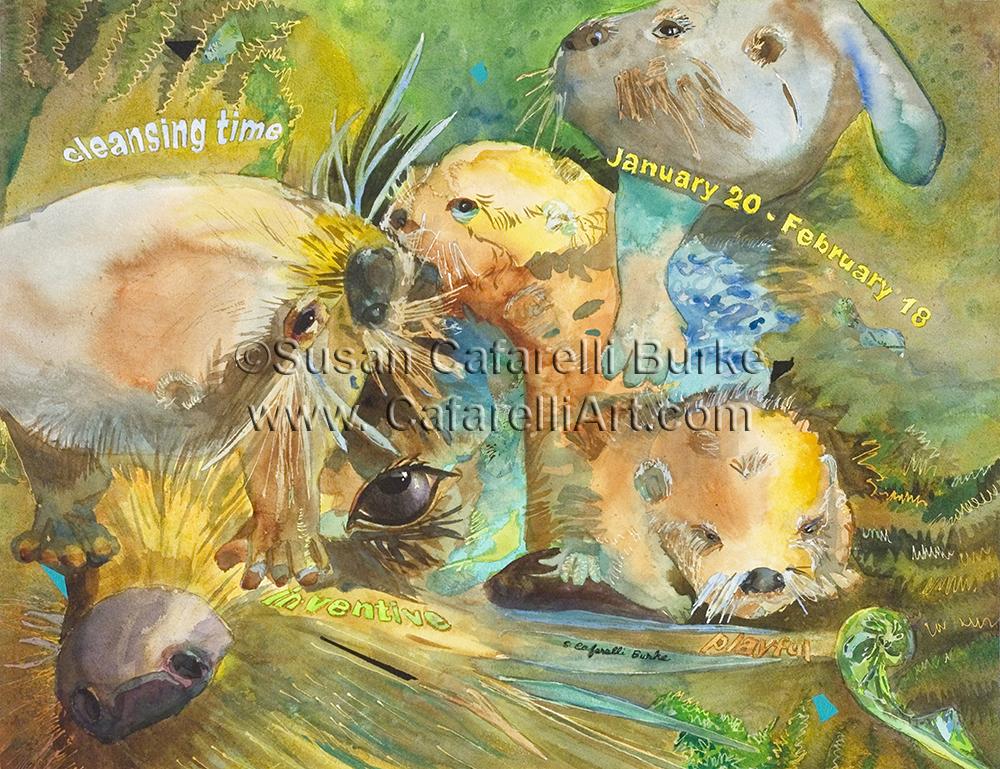 Otter Birth totem 1-20 thru 2-18