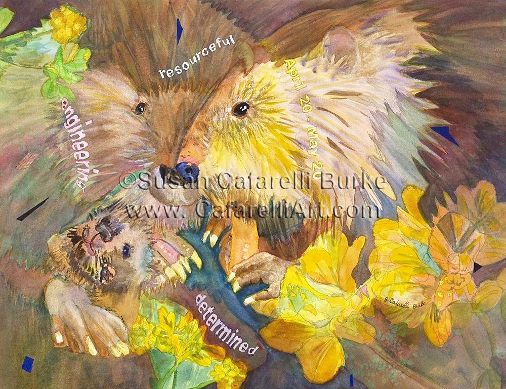 Beaver Birth totem 4-20 thru 5-20