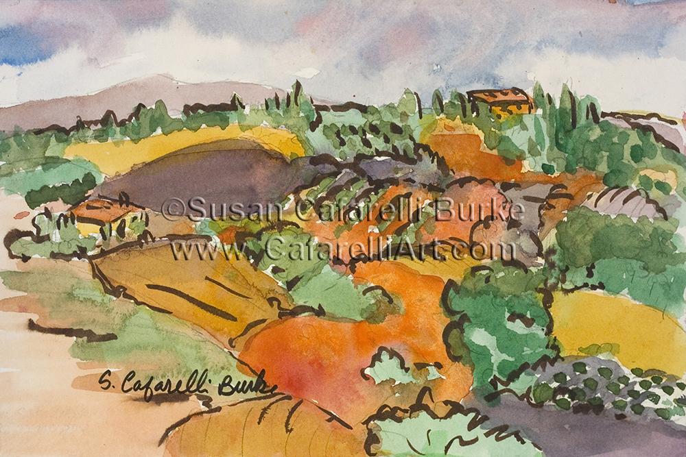 Santa Anna Plains Sketch