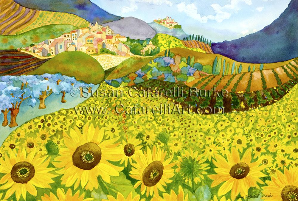 Tuscan Sunflowers