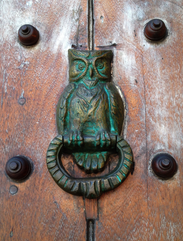 doorknocker, Colombia . photo: John Sawyer