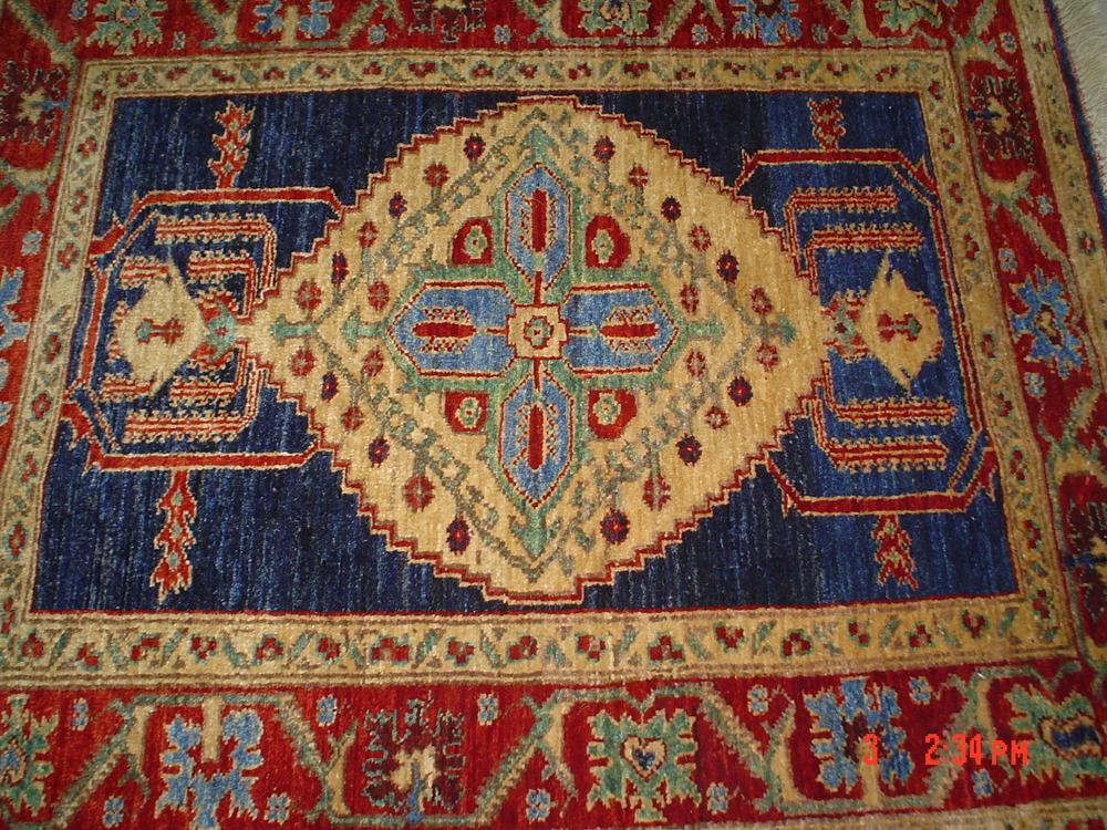 #30) 3 x 4 Kazak. Afghanistan. Lovely piece.