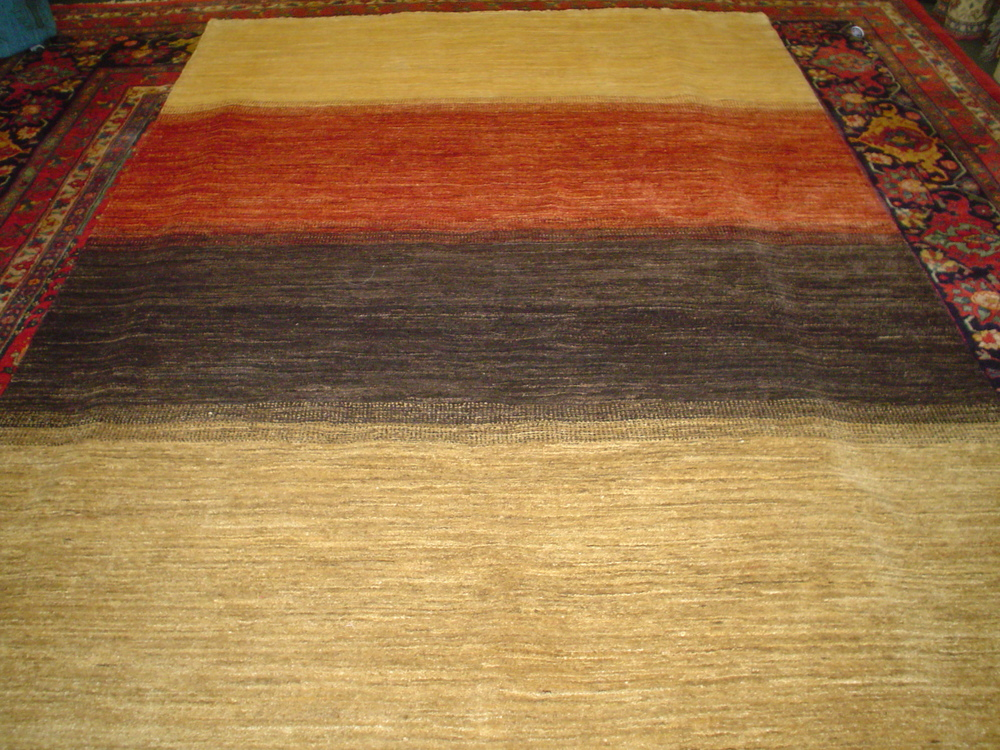 """#21) 5'9"""" x 8'4"""" Afghan Modern. Perfect for contemporary interior."""