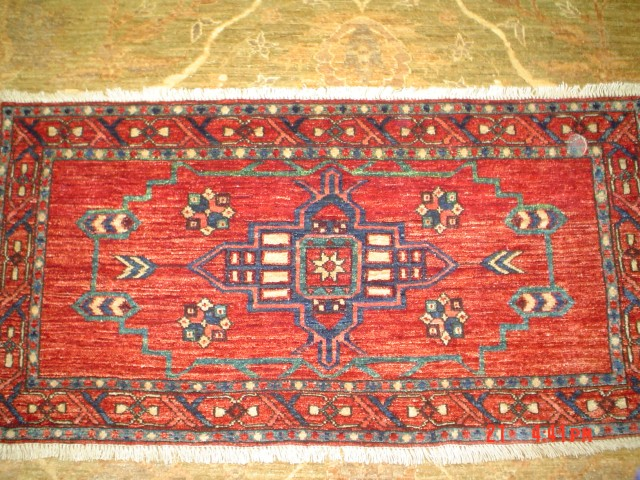 #8: Turkoman rug, produced by Yayla Triabl rugs. Available.