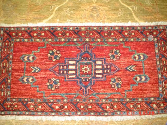 #8: Turkoman rug, produced by Yayla Triabl rugs. Sold.