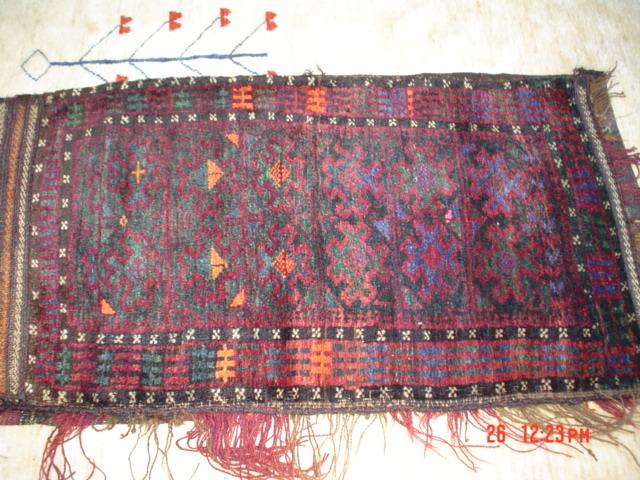 #15: Old Balouch Ballish. (bag for storing clothing, bedding, etc.)